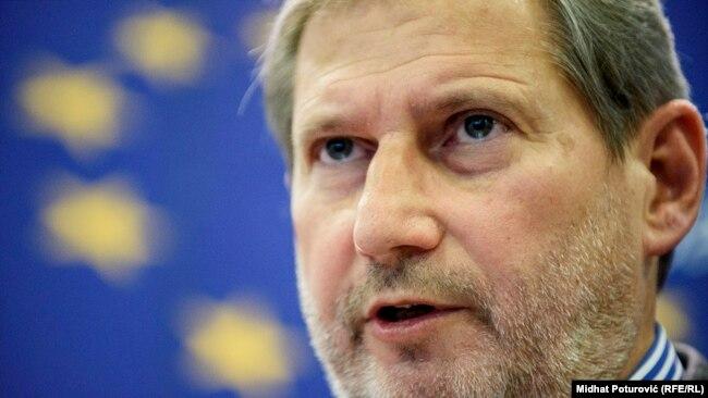 Izbori se ne smiju koristiti kao izgovor za ucjenjivanje zemlje u njenim evropskim težnjama: Johannes Hahn