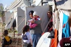 Повседневная жизнь в лагере сирийских беженцев в Османийе (Турция)