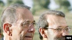 آقای سولانا و آقای لاريجانی روز شنبه در وزارت امور خارجه پرتقال در ليسبون سومين دور از گفت وگو های خود را آغاز کردند
