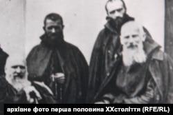 Митрополит Андрей Шептицкий и отец Климентий Шептицкий