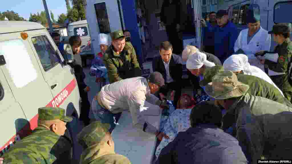 16-сентябрда кечке маал Баткен облусунун Лейлек районундагы Максат айылына жакын жерде атышуу болгон.