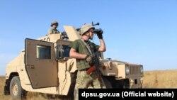 Військові провели навчання у Азовському морі