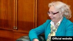 Министр по основным направлениям интеграции и макроэкономике Евразийской экономической комиссии Татьяна Валовая.