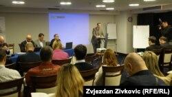 Predstavljanje izvještaja u Sarajevu