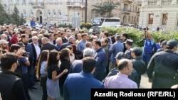اعتراضات در باکو