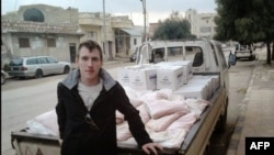 Islamic State's latest video shows the mass beheading of Syrian hostages and the killing of American aid worker Abdul-Rahman (Peter) Kassig (pictured), who was abducted in 2013.
