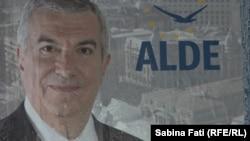 Călin Popescu-Tariceanu, afiș electoral