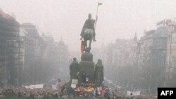 Прага, ноябрь 1989 года.