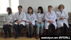 Հայաստան-Վանաձորի հիվանդանոցի աշխատակիցները 09 նոյեմբեր, 2018