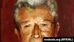 """Старадароскі мастацкі музей, Анатоль Крывенка: """"Партрэт Анатоля Лук'янчыка"""". 1994."""