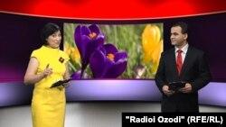 Ведущие программы Хиромон Бакозода и Тохир Сафар