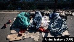 Migranti u Beogradu, ilustrativna fotografija