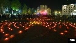 Чернобыл апаатын эскерүү. Славутич шаары. Украина. 26-апрель, 2016-жыл.