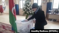Парламентские выборы в Азербайджане.
