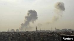 انفجار در دمشق در ماه گذشته