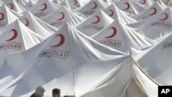Камп за сириските бегалци