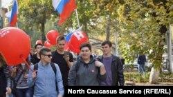 Ставропольские сторонники Навального 7 октября устроили прогулку
