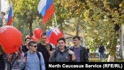 Ставрополь, волонтеры штаба Навального