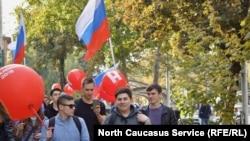 Акция 7 октября в Ставрополе