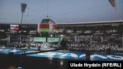 Цырымонія закрыцьця Эўрапейскіх гульняў у Менску