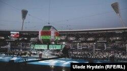 Цырымонія закрыцьця Эўрапейскіх гульняў у Менску, 30 чэрвеня 2019 году