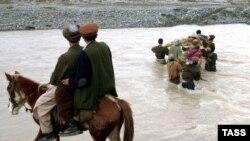 На афганско-таджикской границе. Иллюстративное фото.