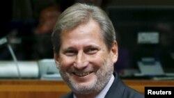 Еврокомесарот за проширување на ЕУ Јоханес Хан
