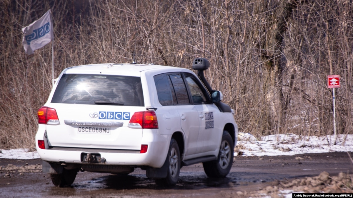 Россия тормозит работу СММ ОБСЕ за ограничения движения на Донбассе и недопуск в Крым – Ґілмор