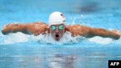 Американский пловец Райан Лохте.