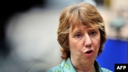 Catherine Ashton's term ends in November.