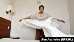 Мәскеудегі Қырғызстан мигранты. (Көрнекі сурет)