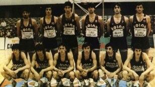 KK Bosna prvak Evrope 1979.