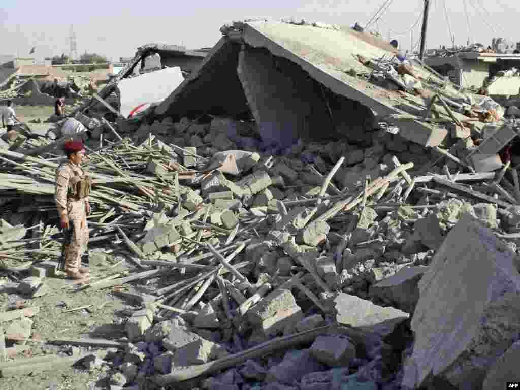 В Ираке в результате серии взрывов погибли не менее 45 человек