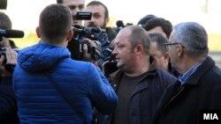 Пратеникот Крсто Мукоски на распит во Кривичниот суд во декември, минатата година