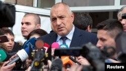 Архива: Бугарскиот премиер Бојко Борисов.