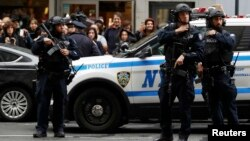 Полиция Нью-Йорка (архивное фото)