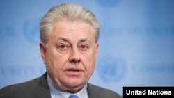 Volodymyr Yelchenko, Ukrainian ambassador to the UN, downplayed U.S. presidential candidate Donald Trump's remarks on Crimea.