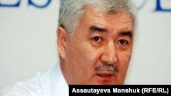 Амиржан Косанов, оппозиционный политик. Алматы, 19 августа 2013 года.