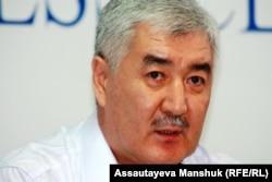 Оппозиционный политик Амиржан Косанов. Алматы, 19 августа 2013 года.