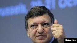 Глава Еврокомиссии Жозе Мануел Баррозу
