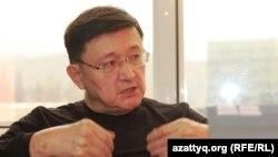Финансист Айдар Алибаев. Алматы, 2 апреля 2014 года.