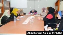 اجتماع لرابطة الصحافيات في البصرة(من الارشيف)