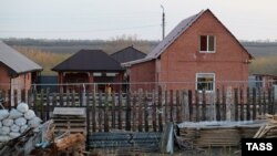 Дом, в котором были найдены тела Гошта и его близких