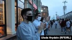 На пікеті у Мінську 18 червня