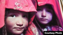 Памирлик кыргыз кыздар.