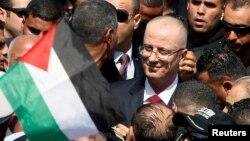 رامی حمدالله، نخست وزیر تشکیلات خودگردان فلسطینی، روز دوشنبه وارد غزه شد.