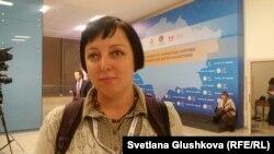 Заместитель директора по связям с общественностью организации «ЭкоМузей» Анна Андрейчук. Астана, 25 ноября 2016 года.