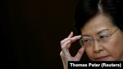 Udhëheqësja e Hong Kongut, Carrie Lam.
