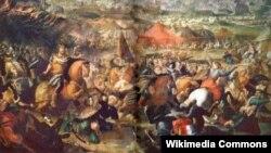 Картина Мартіно Альтомонте «Битва під Віднем»