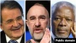 کوفی عنان، دبیر کل سابق سازمان ملل و رومانو پرودی، نخست وزیر سابق ایتالیا از میهمانان برجسته نشست دین در دنیای معاصر هستند.